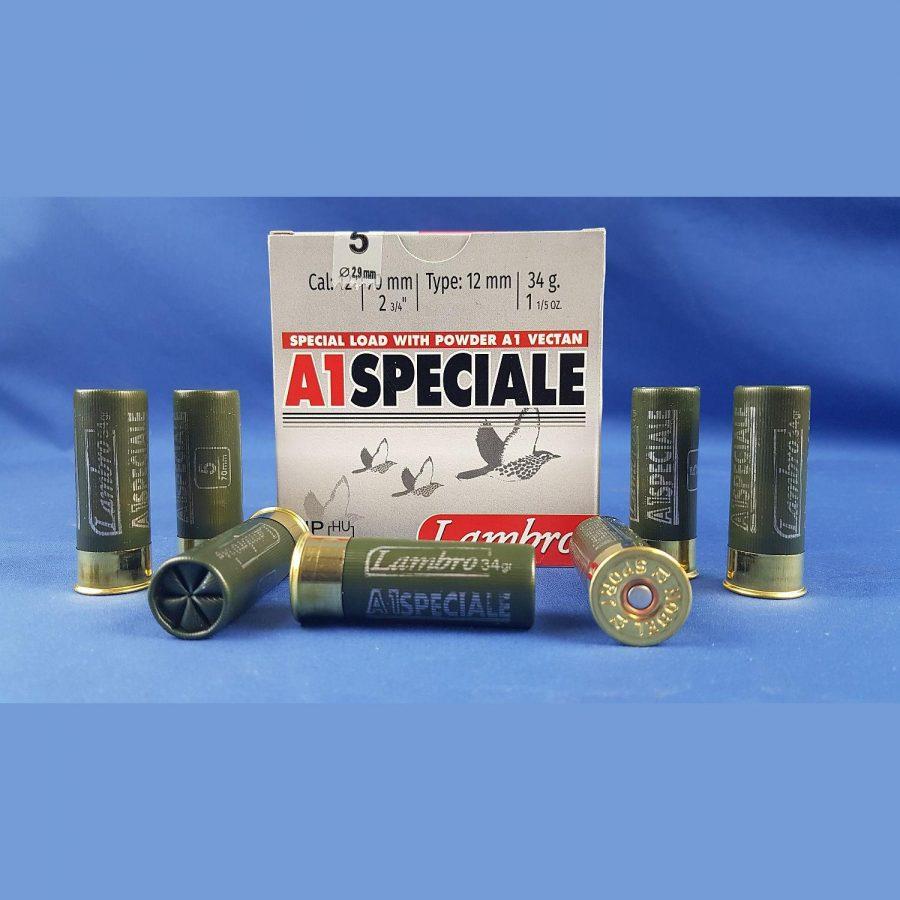 Lambro A1 Speciale Kal. 12/70 34grs 2,9mm