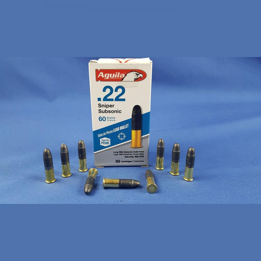 Aguila .22lr 60grs 3,9g Sniper Subsonic