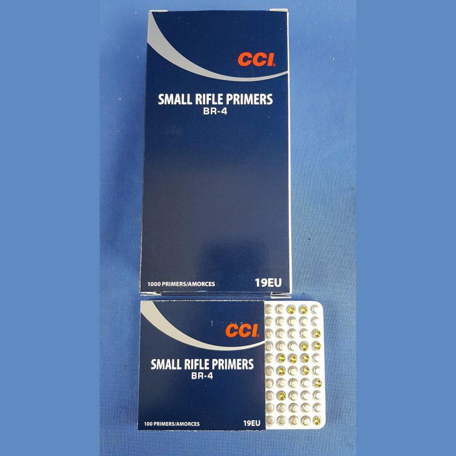 CCI Small Rifle Primers BR-4
