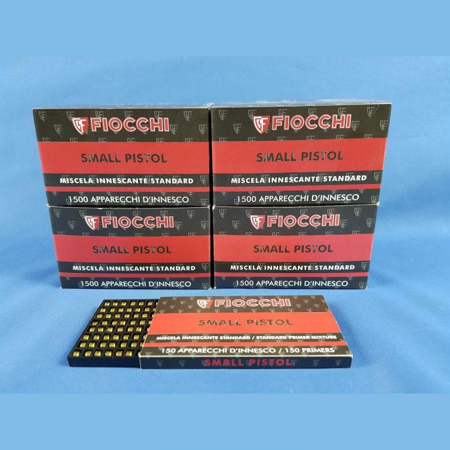 Fiocchi Small Pistol Zündhütchen 150 Stück