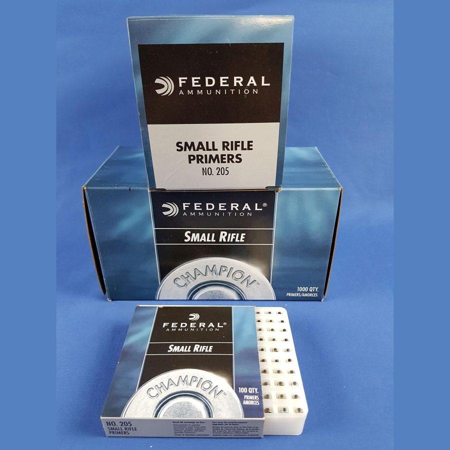 Federal 205 Small Rifle Zündhütchen