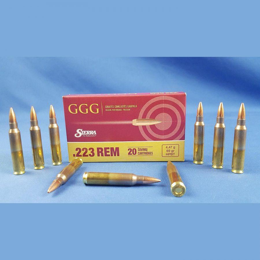 GGG 223Rem. HPBT 69grs 4,47g