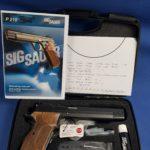 Sig Sauer P210 Supertarget Black, Kal.9×19 LL: 6″