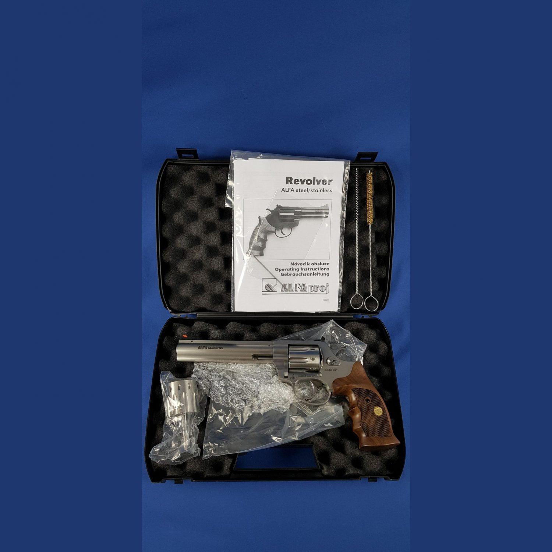 Alfa Proj Mod.2361 Stainless, Kal.22 WMR