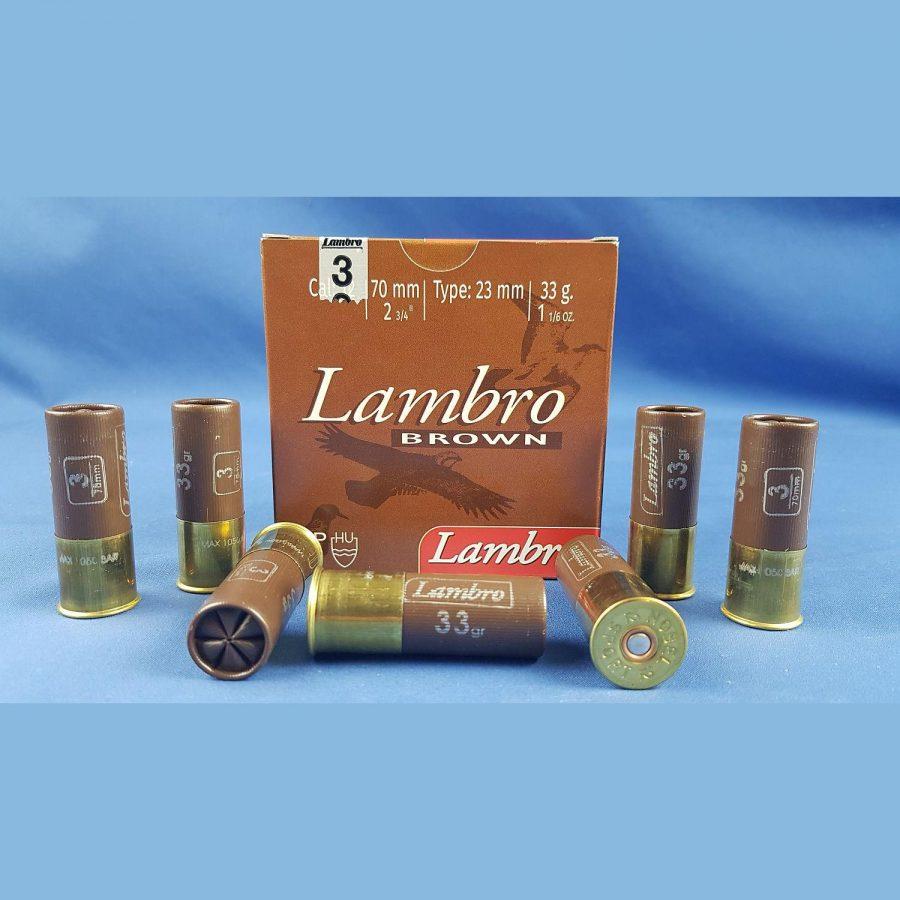 Lambro Brown Kal.12/70 33gr 3,3mm