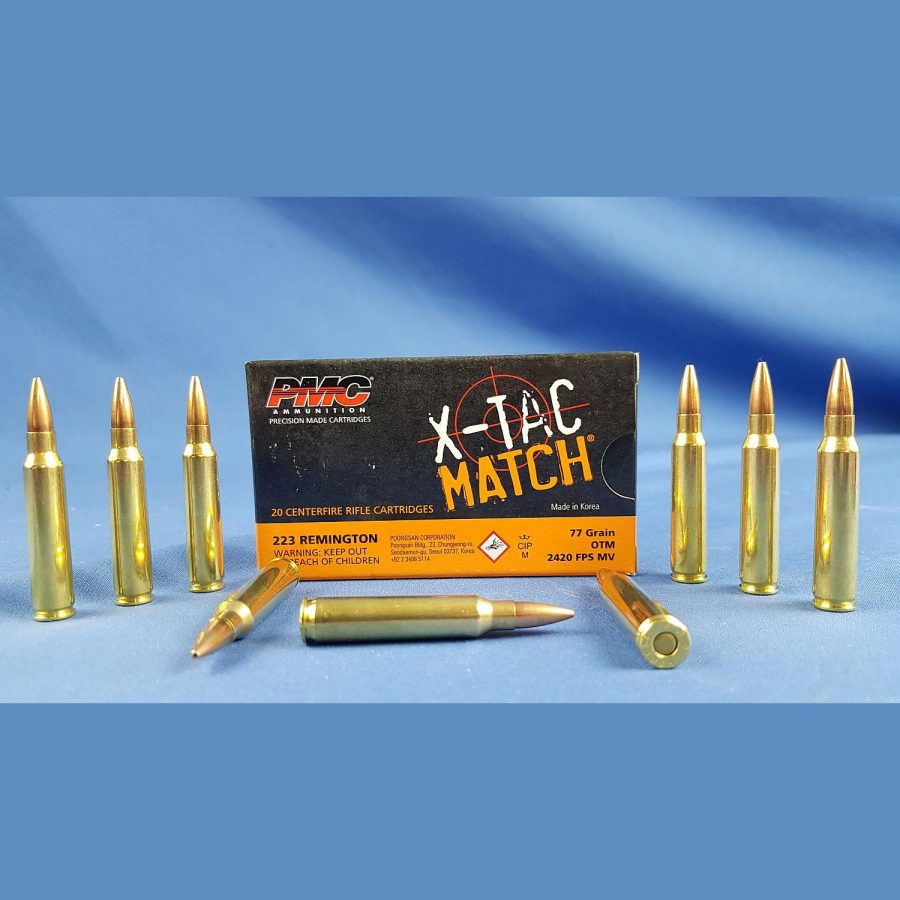 PMC X-TAC Match .223Rem 77grs. 5,0g OTM