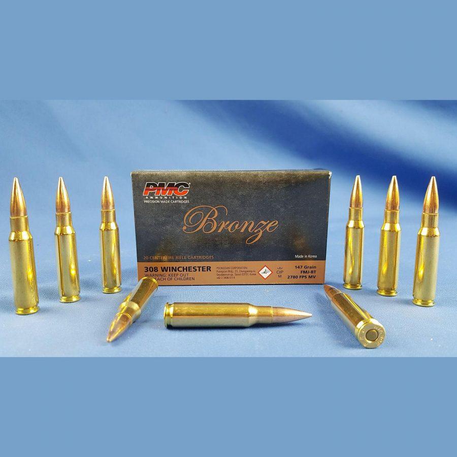 PMC Bronze 308Win FMJ-BT 147grs. 9,5g