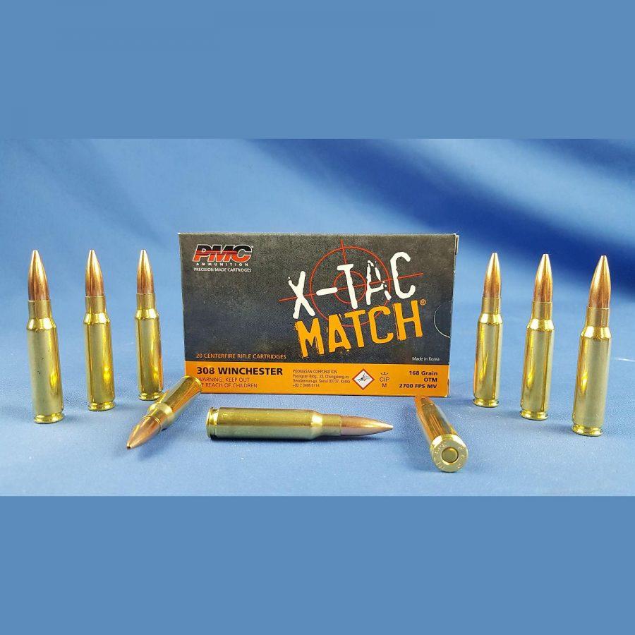 PMC X-TAC Match 308Win OTM 168grs 10,9g