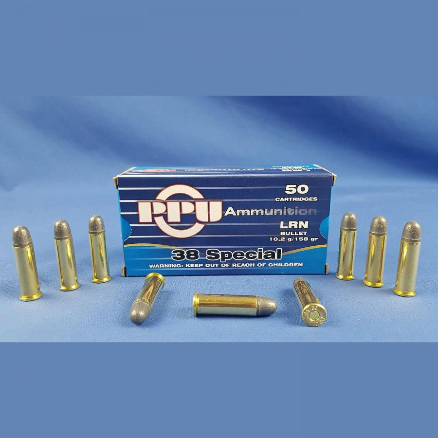 PPU .38 Special LRN 10,2g 158grs