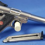 Ruger Pistole MK IV Target Threaded Bull, Kal. 22lr