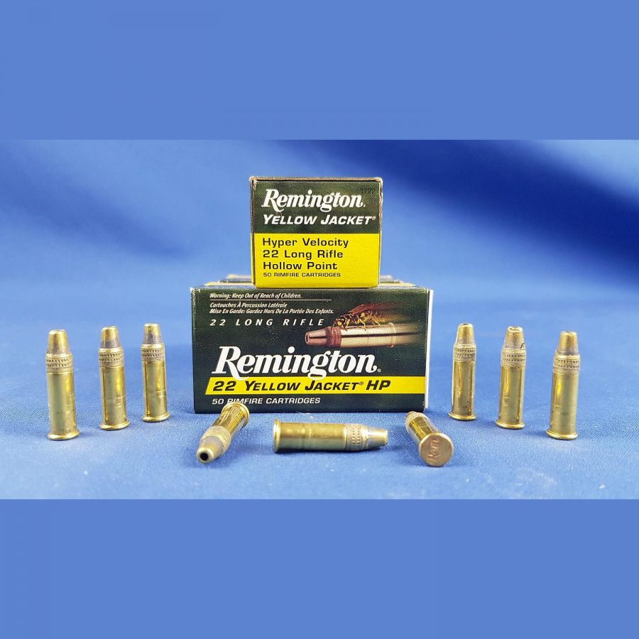 Remington 22l.r. Yellow Jacket HV HP