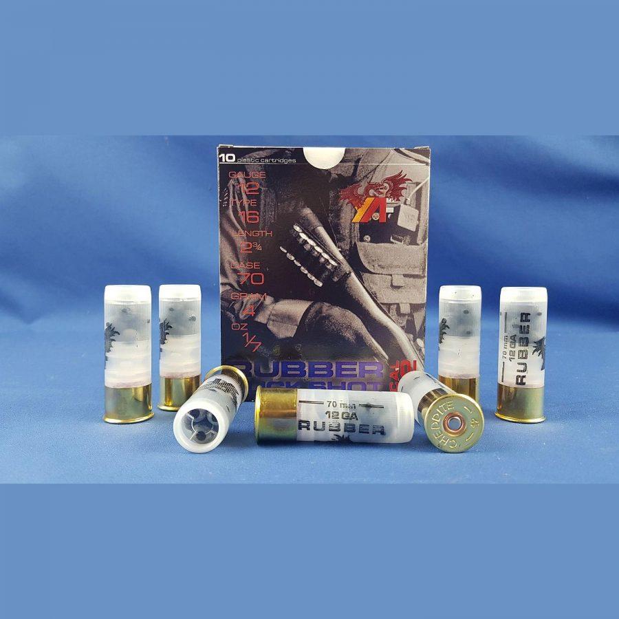 Rubber Buckshot Kal. 12/70 Gummibälle 4gr