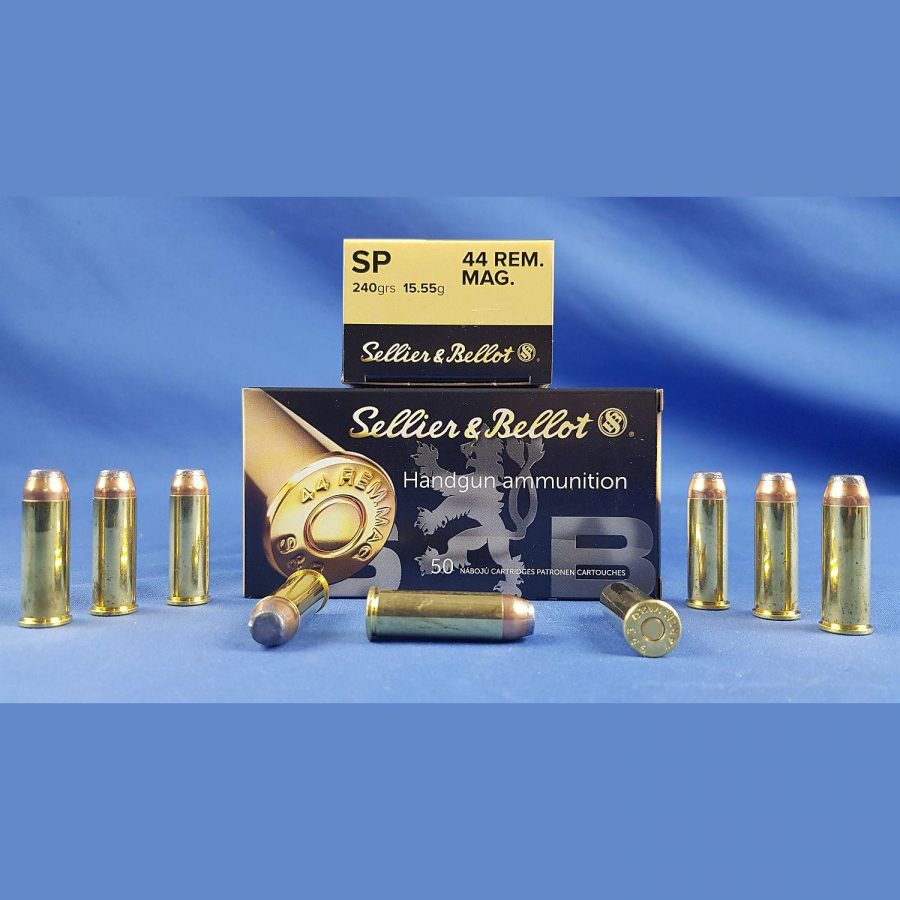 Sellier&Bellot .44 Rem. Mag SP 240grs 15,55g
