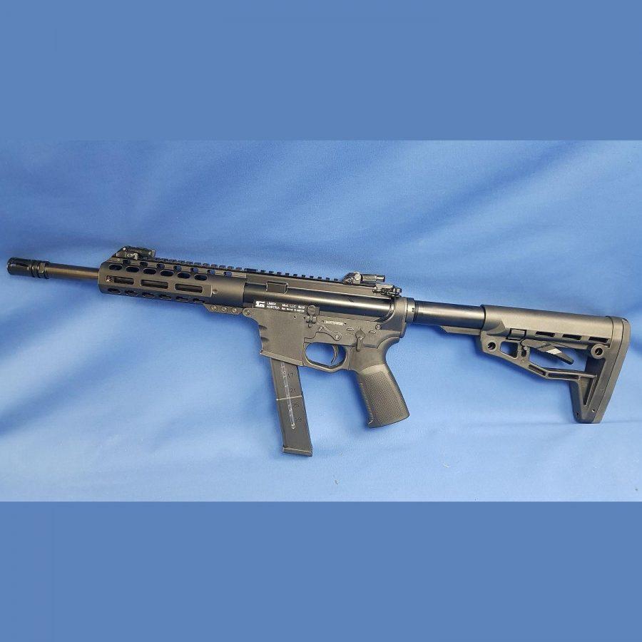 AC Alfa Selbstladekarabiner Modell: LLC (Limex Luger Carbine), Kal.9×19