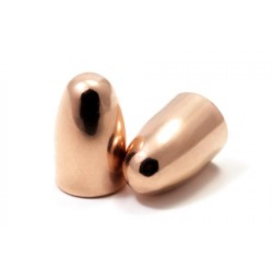 LOS Geschosse im Kaliber 9mm mit 123gr, RN (Round Nose – Rundkopf)