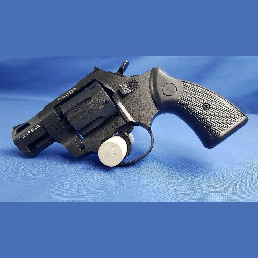 Zoraki Schreckschuss Revolver Mod. R2 TD 9×6 P.A.K. Black, Kal.9mm Platz