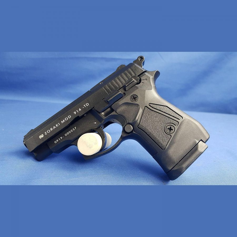 Zoraki Mod. 914 P.A.K. Black Schreckschusspistole, Kal. 9mm Platz