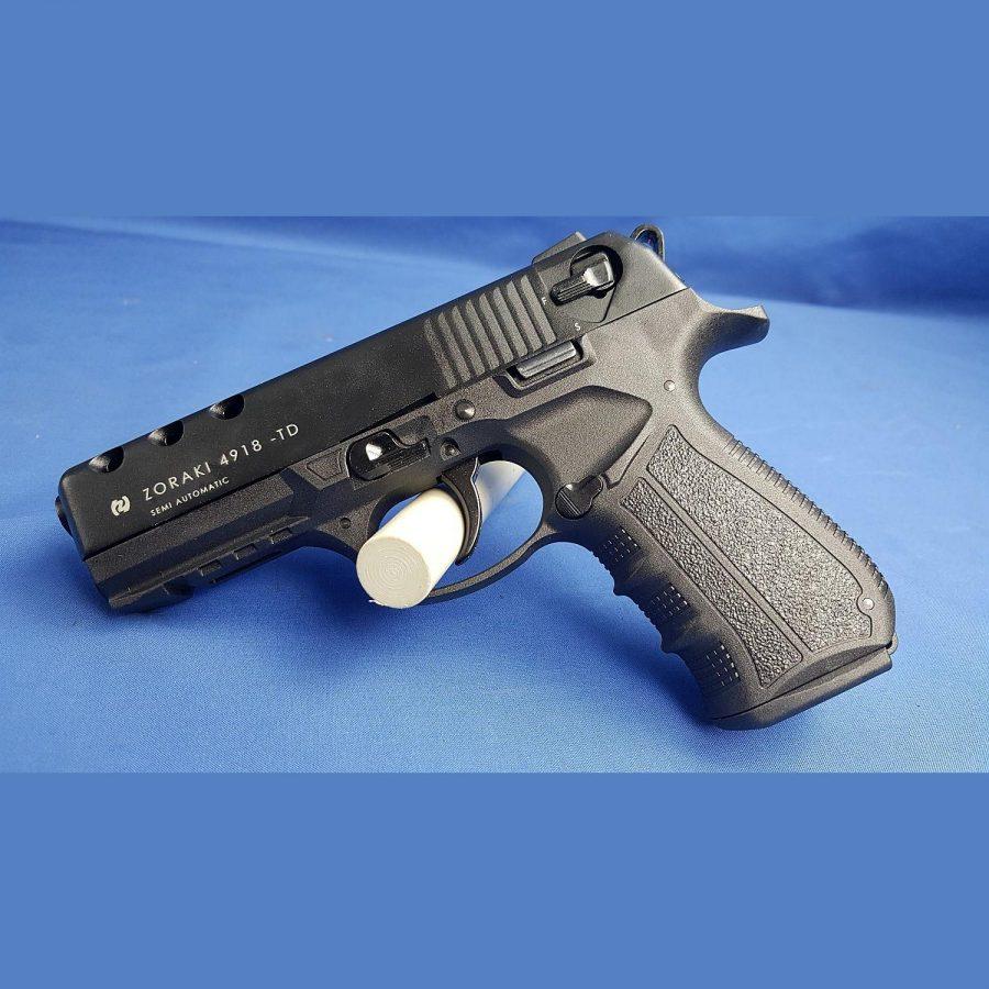 Zoraki Mod. 4918-TD P.A.K. Black Schreckschusspistole, Kal. 9mm Platz