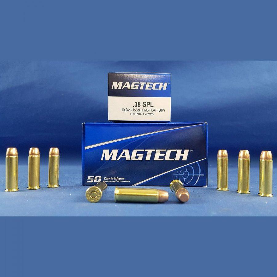 Magtech .38SPL 158grs 10,24g  FMJ-Flat