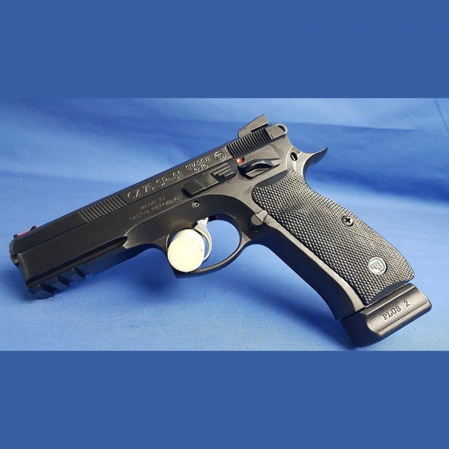 CZ75 SP-01 Shadow, Kal.9×19