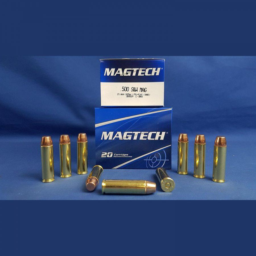 Magtech .500 S&W Vollmantel Flachkopf 325grs. 21,0g