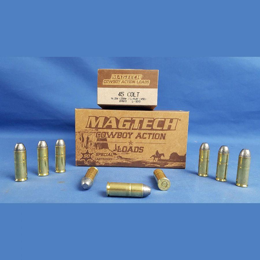 Magtech .45 Colt Blei-Flachkopf 250grs. 16,20g