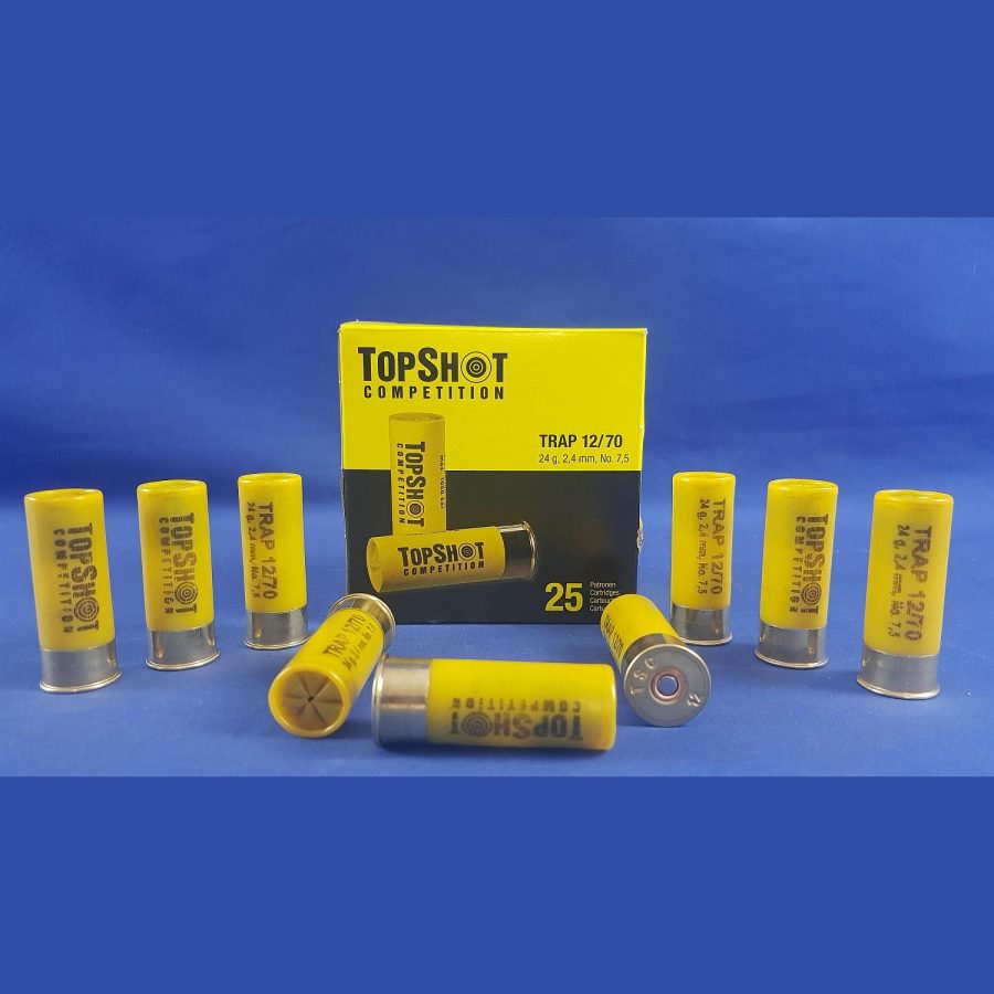 TopShot Competition Trap 12/70 24 g, 2,4mm