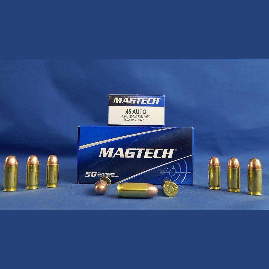 Magtech .45 ACP Vollmantel  230grs. 14,9g