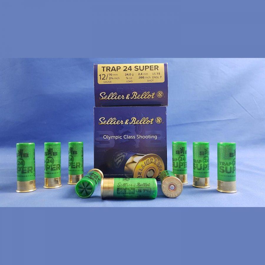 Sellier&Bellot 12/70 Super Trap 2,4mm 24g