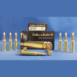 Sellier&Bellot 7,62 Nagant, Teilmantel 180grs 11,7g