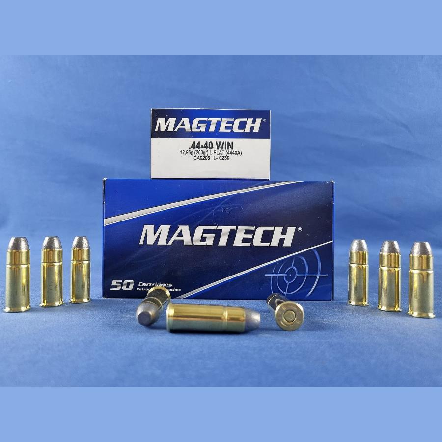 Magtech .44-40 Win. Blei Flachkopf 13,0g/200grs.