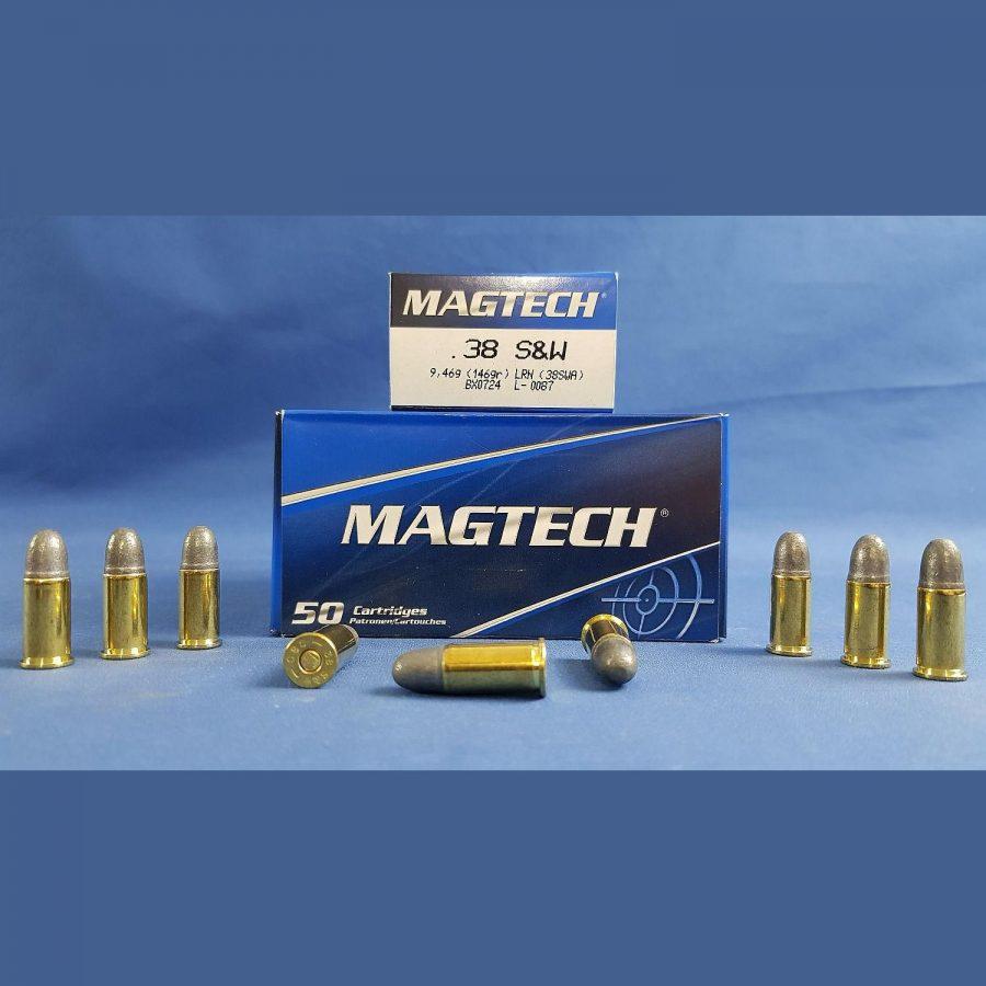 Magtech .38 S&W Blei-Rundkopf 9,46g/146grs.