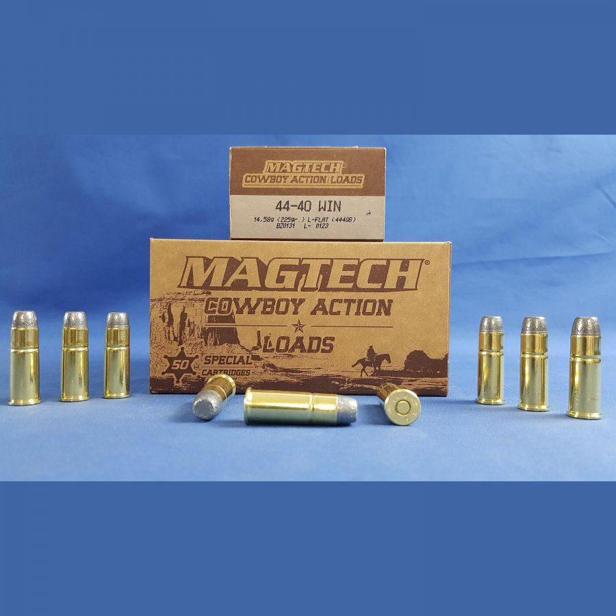 Magtech .44-40 Winchester Blei-Flachkopf 14,58g/225grs.