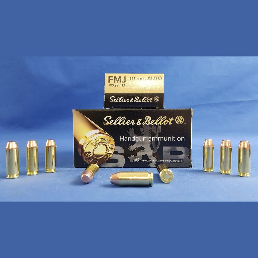 Sellier&Bellot 10mm Auto FMJ 11,7g/180grs.