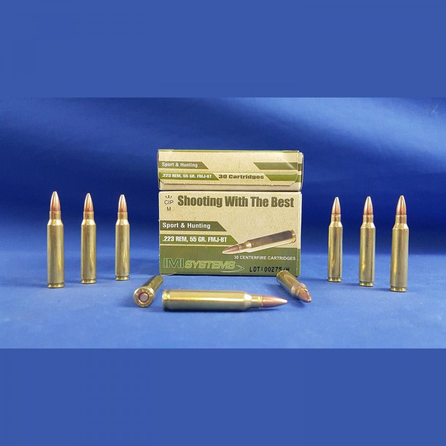 Israel Military Industries .223Rem 55grs 3,6g