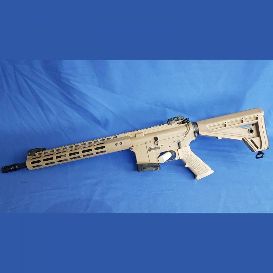 "OA15 AUSTRIA, BL M4 14,5″ THOR .223 Rem"" OA-slime MLOK Handschutz 13″, Farbe: Dark Eaerth Brown (DEB)"