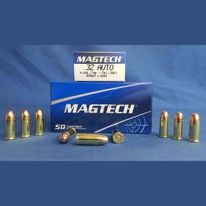 Magtech 7.65 Browning ( .32Auto ) Vollmantel 4,6g/71grs.