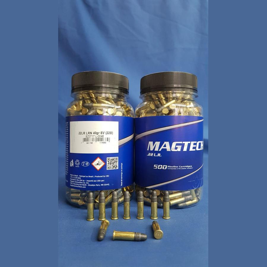 Magtech .22 lfb. LRN SV 2,6g/40grs.
