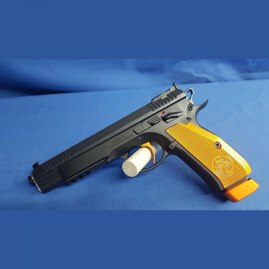 CZ 75 Taipan Orange Pro Tuning , Kal. 9x19mm