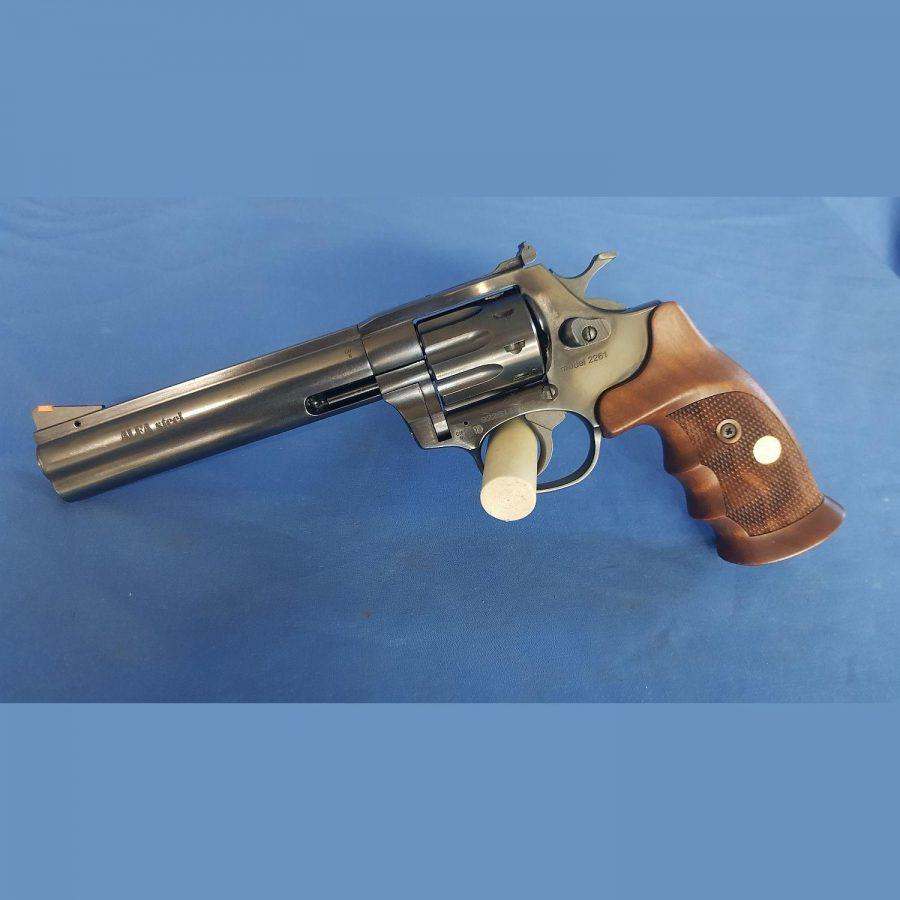 Revolver Alfa Steel blued brüniert Mod.2261 Kal. 22lr