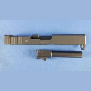 Glock 19 MOS , Schlitten und Lauf ohne MOS Schiene Kal.9x19mm