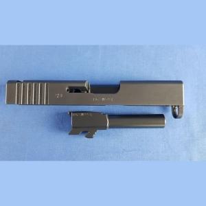 Glock 43 SLIM, Schlitten und Lauf Kal.9x19mm