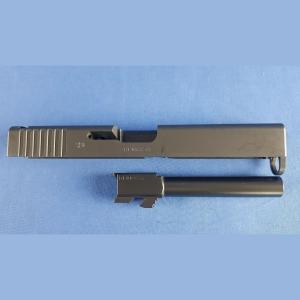 Glock 17 Gen4 FDE , Schlitten und Lauf Kal.9x19mm
