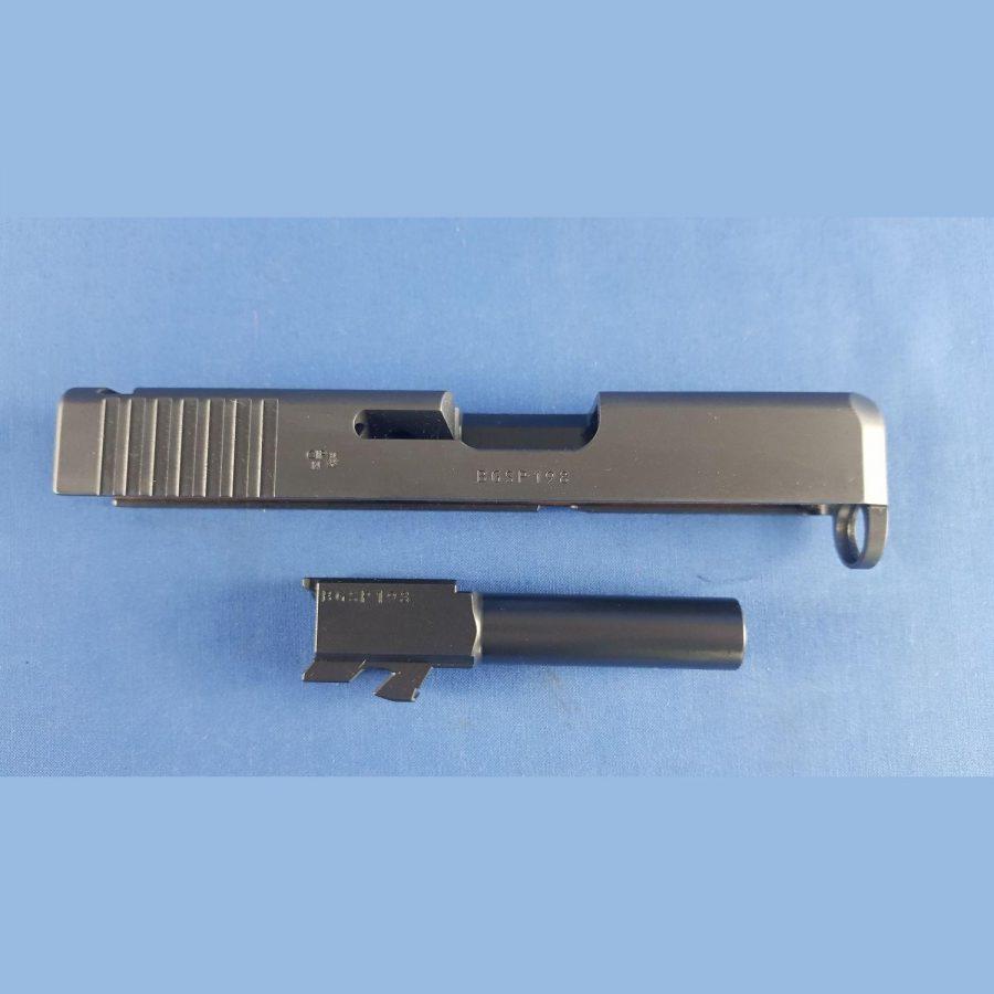 Glock26 Gen4 , Schlitten und Lauf Kal.9mm Para