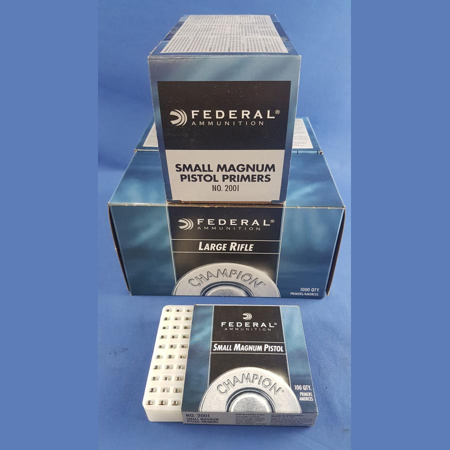 Federal 200 Small Pistol Magnum Primers