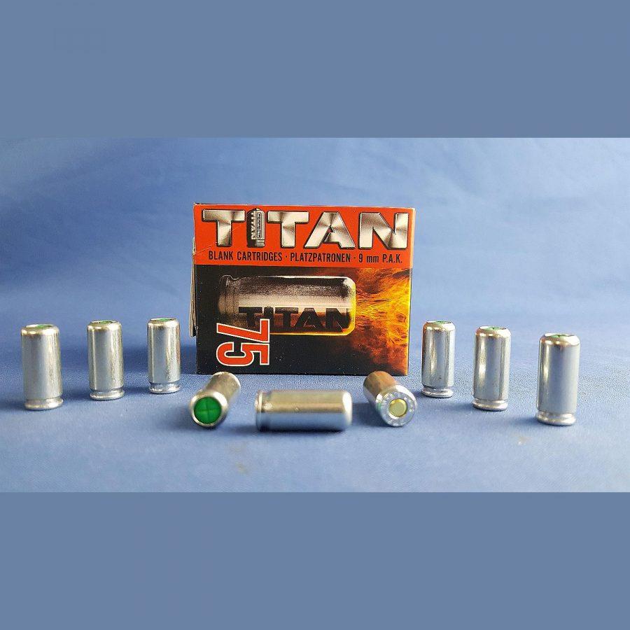 Perfecta Knallpatronen Titan 9mm P.A. 75Stück