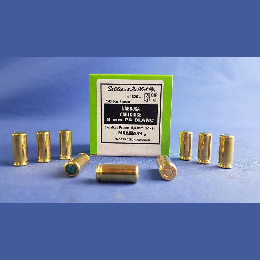 Sellier & Bellot Knallpatronen 9 mm P.A.