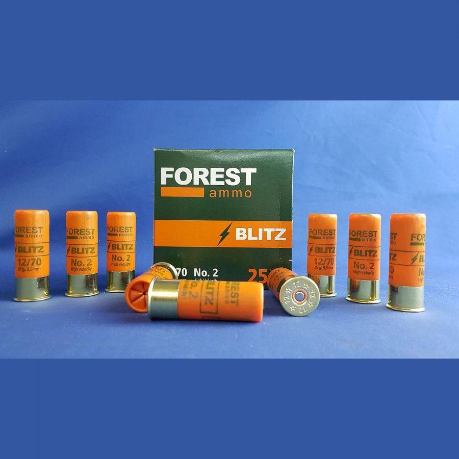 Forest Ammo 12/70 Blitz HV 3,5mm 36g