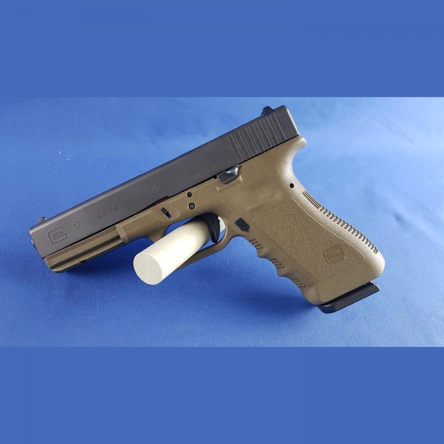 Glock 17 Gen3 Oliv Kal. 9x19mm