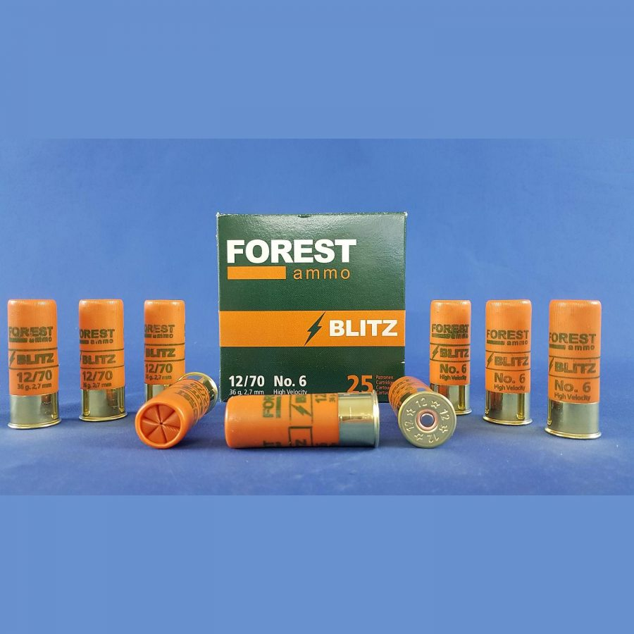 Forest Ammo 12/70 Blitz HV 2,7mm 36g